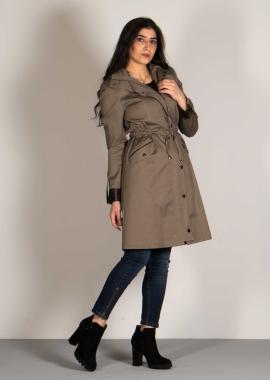 Short Cotton Coat