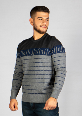 C-Neck  Cotton Sweatshirt